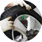 Tyre fitting: Driveway Tyres